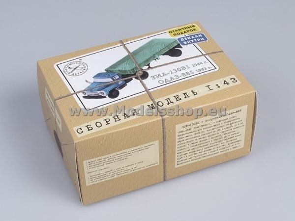 ZIL-130V1 with Semitrailer ODAZ-885 (model kit) (KIT7001)