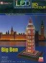 Puzzle 28: Zegar Big Ben. 3D LED (L501H)