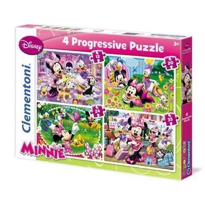 Puzzle 12+20+24+35 el.Minnie (21501)