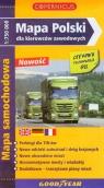 Polska Mapa Polski dla kierowców zawodowych 1: 750 000