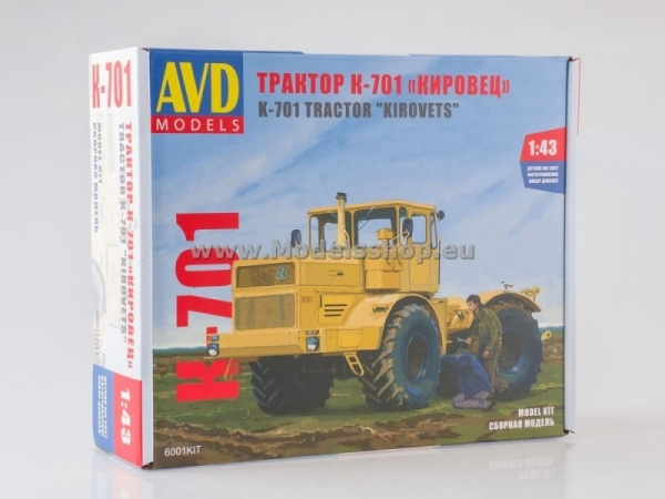 Tractor K-701 Kirovets (kit model) (KIT6001)