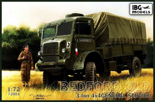 Bedford QLD 3 ton 4x4 General service (72001)