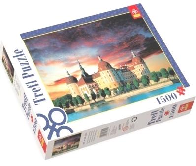 Zamek Moritzburg, Saksonia, Niemcy - 1500 elementów