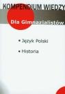 Kompendium wiedzy język polski, historia