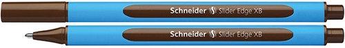 Długopis Schneider Slider Edge, XB, brązowy