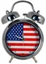 Zegar USA Duży
