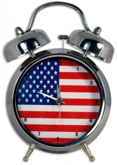 Zegar USA Duży .