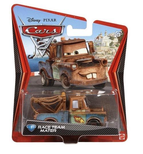 Auta 2 Samochód metalowy Race Team Mater