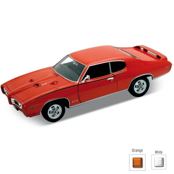 WELLY Pontiac GTO 1969 (WE22501)
