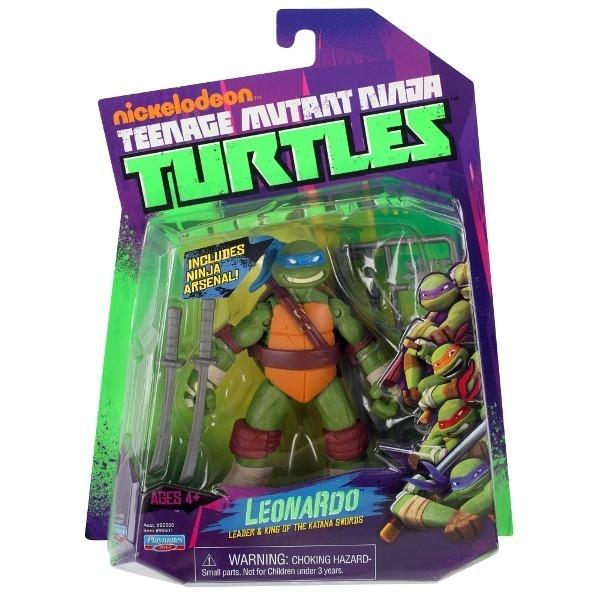 TURTLES Żółwie Ninja Fig. Leonardo 12 cm