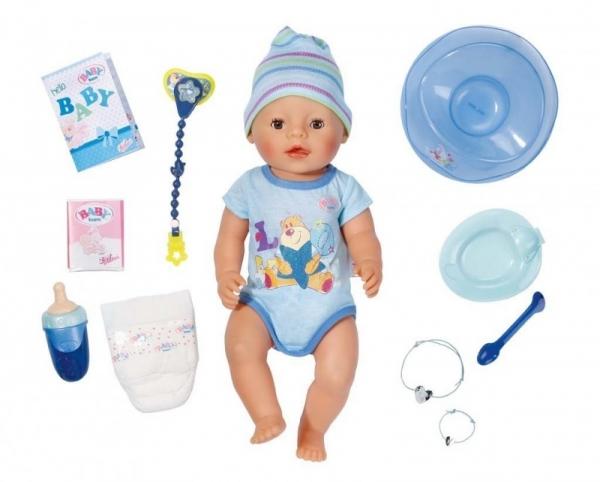BABY BORN Lalka interaktywna chłopiec (refresh) (822012)