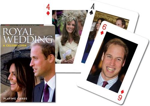 Karty do gry Piatnik 1 talia Królewskie wesele