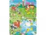 Puzzle Zwierzęta 4 plansze