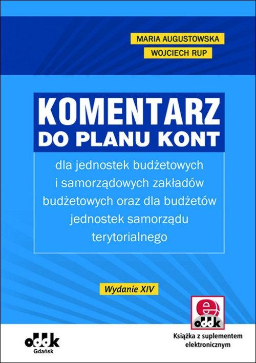 Komentarz do planu kont Augustowska Maria, Rup Wojciech