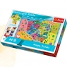Puzzle edukacyjne Mapa Polski 44 elementy (15501)