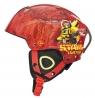 Kask narciarski Transformers S czerwony