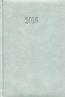 Kalendarz 2016 Książkowy dzienny A5 szary