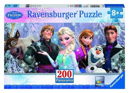 Puzzle Kraina Lodu - panorama 200 elementów (128013)