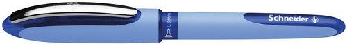 Pióro kulkowe Schneider One Hybrid N, 0,3 mm, niebieski