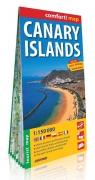 Canary Islands mapa turystyczna 1:150 000