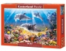 Puzzle 500 elementów Dolphins Underwater (51014)