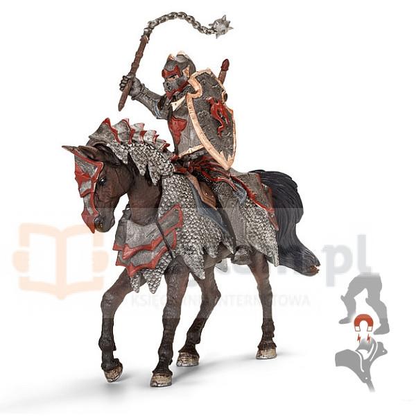 Rycerz Smoka z maczugą na koniu (70101)