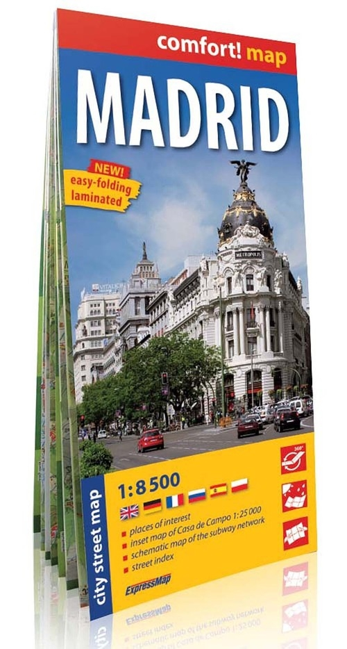 Madrid plan miasta 1:8 500