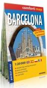 Barcelona laminowany plan miasta 1:20 000