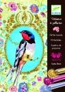 Zestaw artystyczny z brokatem Ptak (DJ09501)