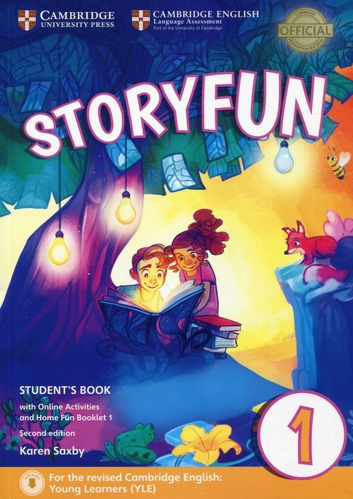 Storyfun for Starters 1 Student's Book with Online Activities and Home Fun Booklet 1 Saxby Karen