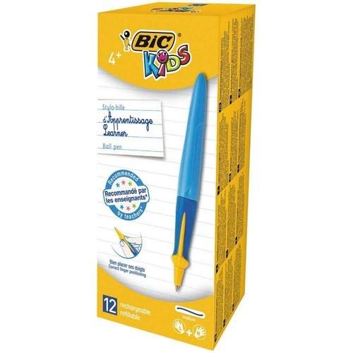Długopis BIC Kids Beginners Twist Boy niebieski pudełko 12 sztuk (918457)