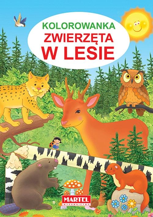 Kolorowanka Zwierzęta w lesie Żukowski Jarosław