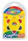 Kredki świecowe Gwiazdka Colorino Kids 6 kolorów