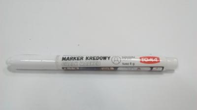 Marker kredowy Fine 1,5mm biały TO-293 .