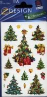 Naklejki bożonarodzeniowe Z Design Christmas Choinki