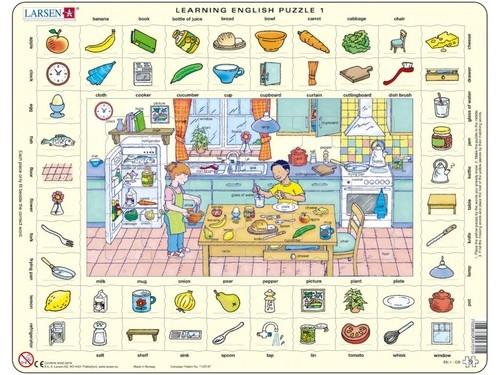 Nauka angielskiego puzzle 1