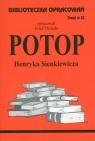 Biblioteczka Opracowań  Potop Henryka Sienkewicza