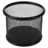 Przybornik na biurko Titanum czarny (M-551B)