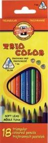 Kredki Triocolor 18 kolorów