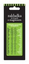Zakładka magnetyczna ZK-032 Angielskie czasowniki nieregularne