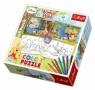 Puzzle 2x48 elementów Color Winnie the Pooh