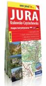 Jura Krakowsko-Częstochowska see you! in papierowa mapa turystyczna
