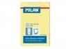 Karteczki Milan samoprzylepne 50x76 mm żółte 85601