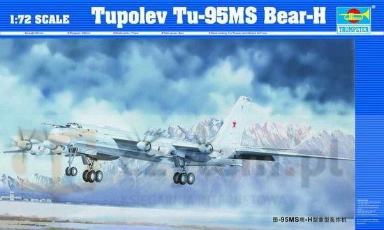 TRUMPETER Tupolev TU95 MS BaerH (01601)