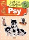 Psy - naklejki edukacyjne