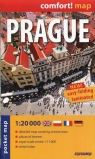 Prague pocket map 1:20 000