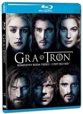 Gra o Tron. Sezon 3 (5 Blu-ray)