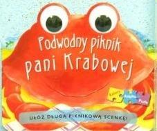 Podwodny piknik pani Krabowej (książka z puzzlami) praca zbiorowa