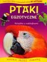 Książki o zwierzątkach z naklejkami Egzotyczne