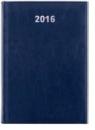 Kalendarz A5 Książkowy dzienny Balado granat 2016